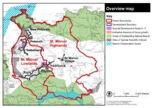 Map 2 St Minver Highlands and St Minver Lowlands – Protected Areas