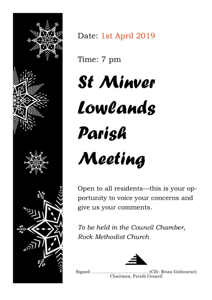 Parish Meeting 2019